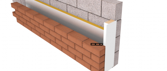 ARC Smart-Closer - thermal cavity closer with expanded polystyrene insulation