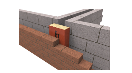 ARC Party Wall Cavity Stop Socks (no flange)