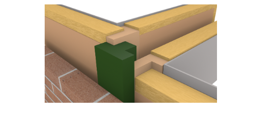 ARC TCBs (flanged cavity fire barrier) - Timber to Timber